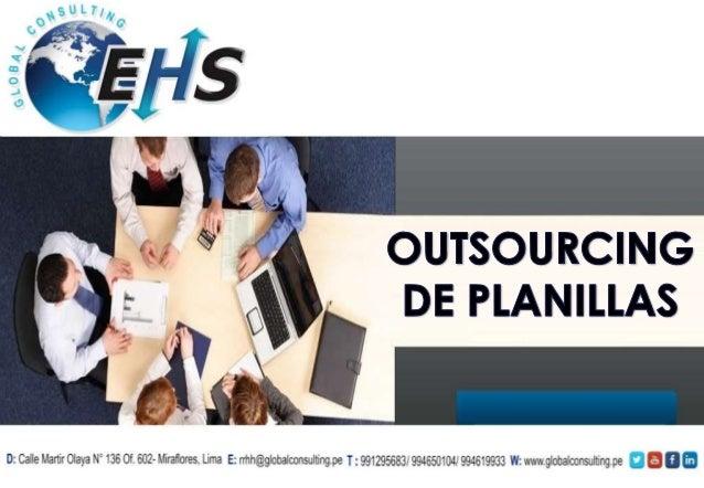 EHS Global Consulting nace en Trujillo-Peru en el año 2011 como producto de la unión de profesionales con amplia trayector...