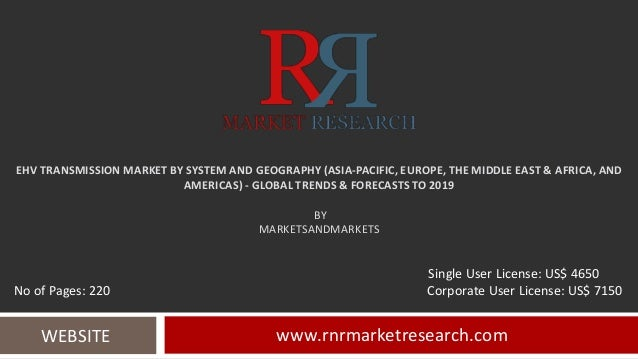 EHV TRANSMISSION MARKET BY SYSTEM AND GEOGRAPHY (ASIA-PACIFIC, EUROPE, THE MIDDLE EAST & AFRICA, AND AMERICAS) - GLOBAL TR...