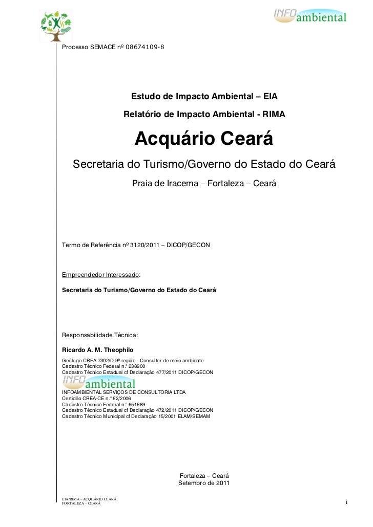 Acquario Ceará - EIA/RIMA