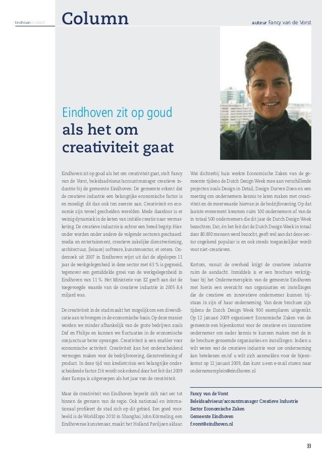 Eindhoven in bedrijf   Column                                                                                            a...