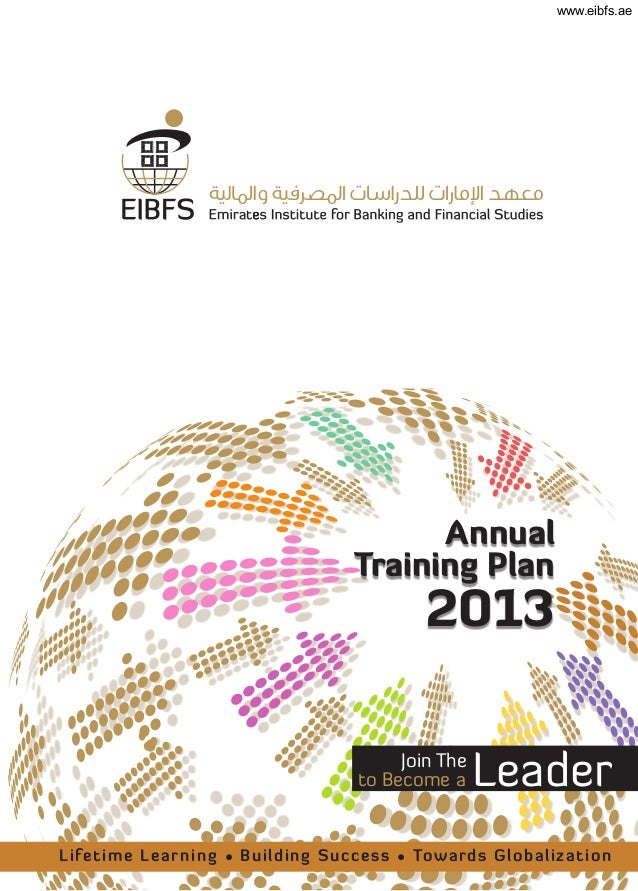 Eibfs banking and finance -annual training plan 2013