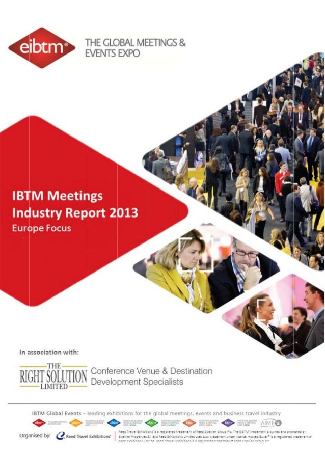 EIBTM meetings industry research analysis in Europe