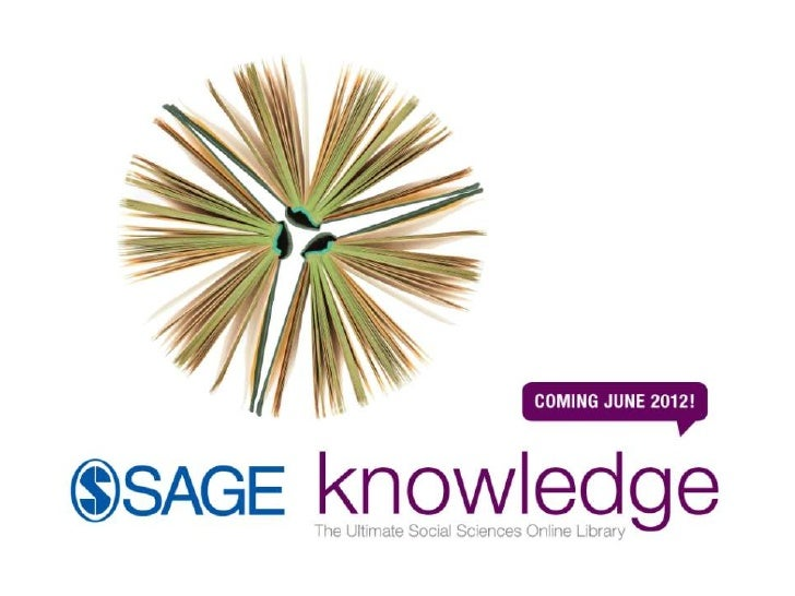 La nueva plataforma de ebooks, de SAGE• Una biblioteca digital fundamental para  estudiantes, investigadores e académicos•...