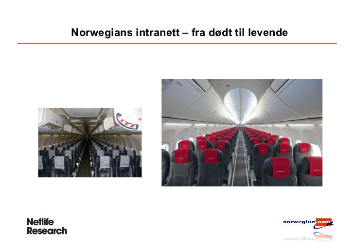 Norwegians intranett – fra dødt til levende