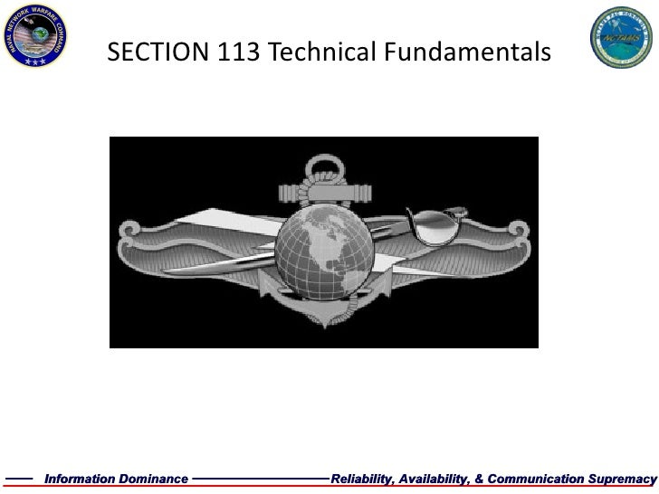 SECTION 113 Technical Fundamentals