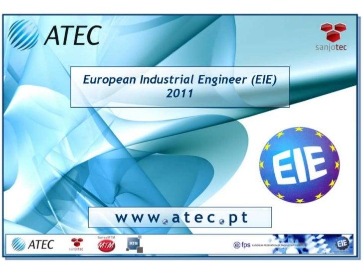 EIE - European Industrial Engineer