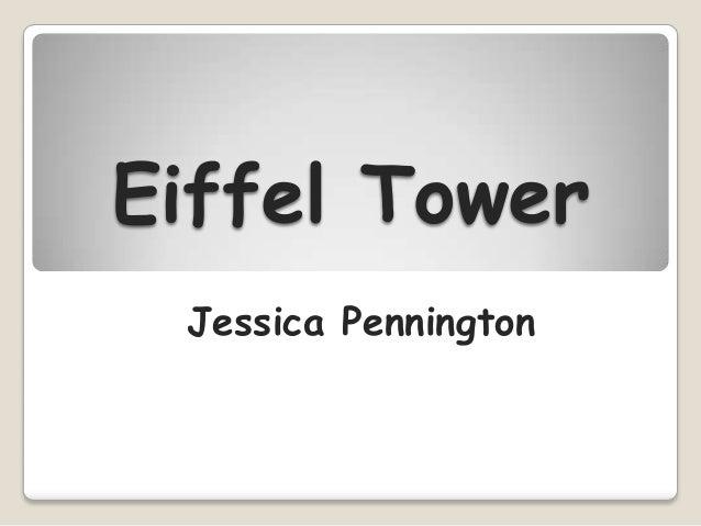 Eiffel Tower Jessica Pennington