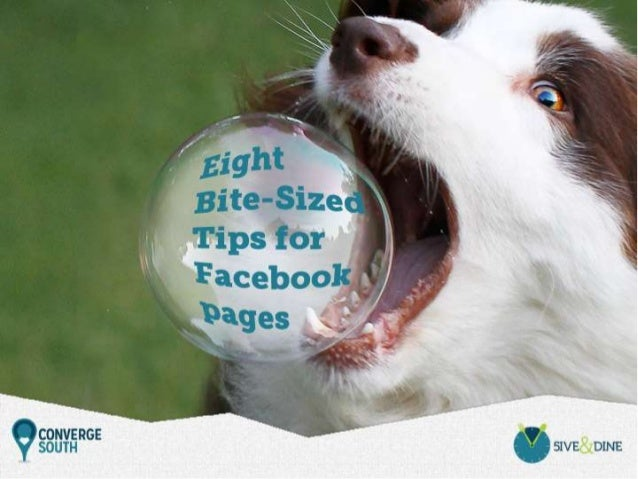 Eight Bite-Sized Facebook Tips