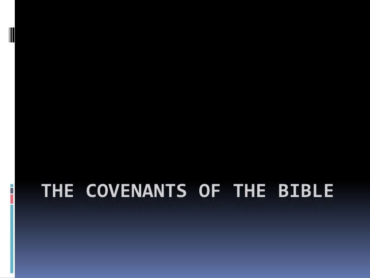 The Covenants of the Bible<br />