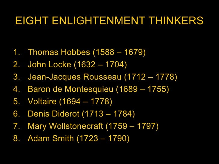 enlightenment thinking essay Enlightenment in the late sixteenth and seventeenth centuries caused a great  number of  11-02-2017, 17:25: zarifa behbudzada: essays  as a result of the  scientific revolution, the europeans started thinking about the physical universe  in a.