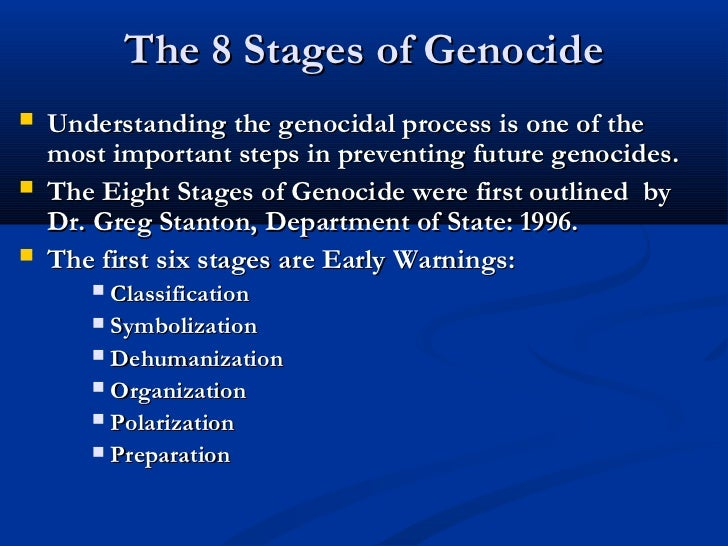eight steps of genocide essay Argumentative essays are kind of like superpowers: they allow you to get what you want using the superpower of persuasion view this lesson and.
