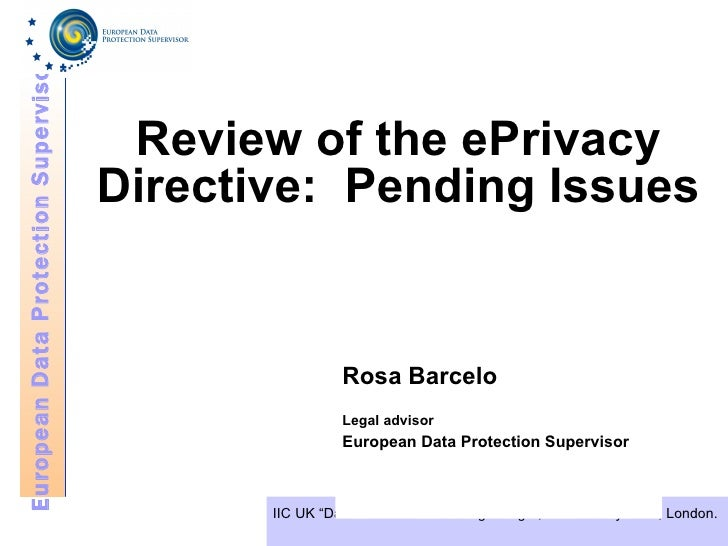 Eprivacy: Regulatory trends in Europe