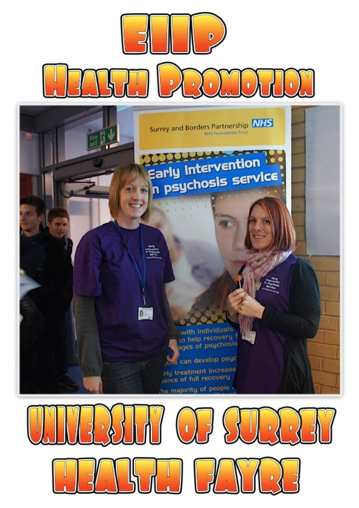 EIIP - Health Promotion @ University Comic