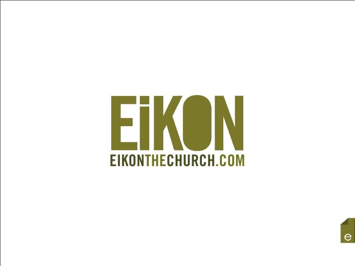 EIKONTHECHURCH.COM