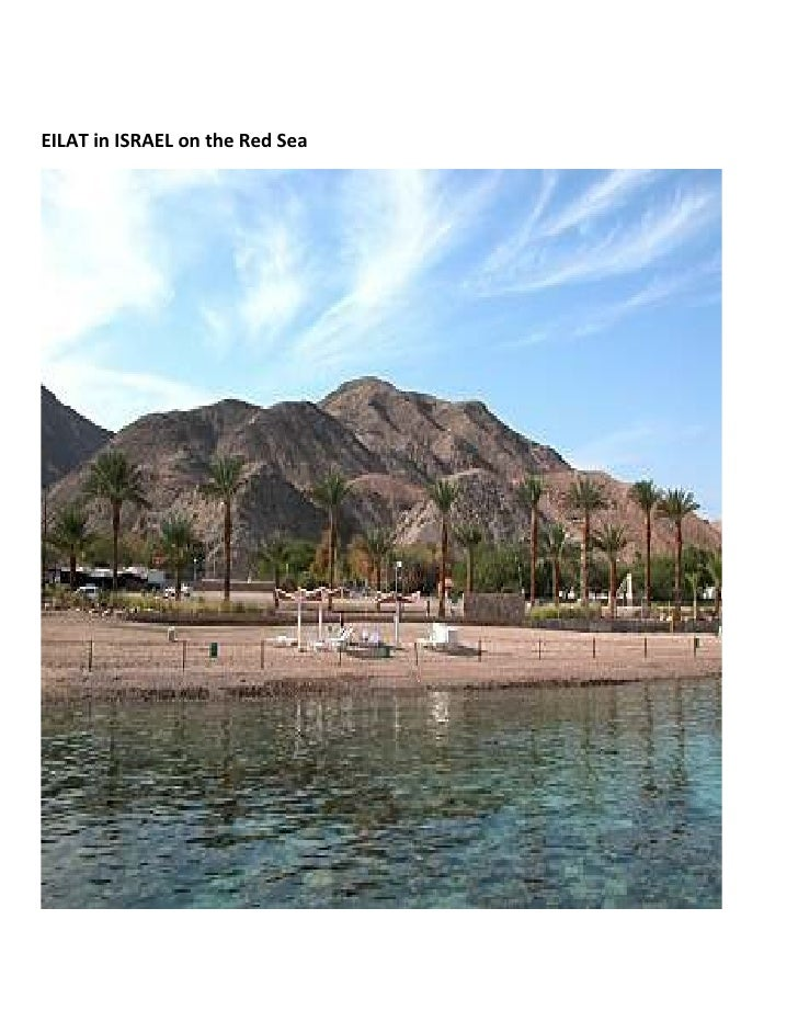 EILAT in ISRAEL on the Red Sea