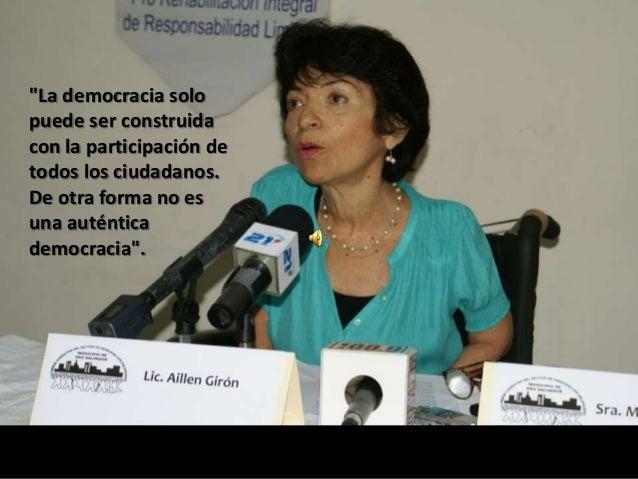 Eileen Girón Batres Biografía