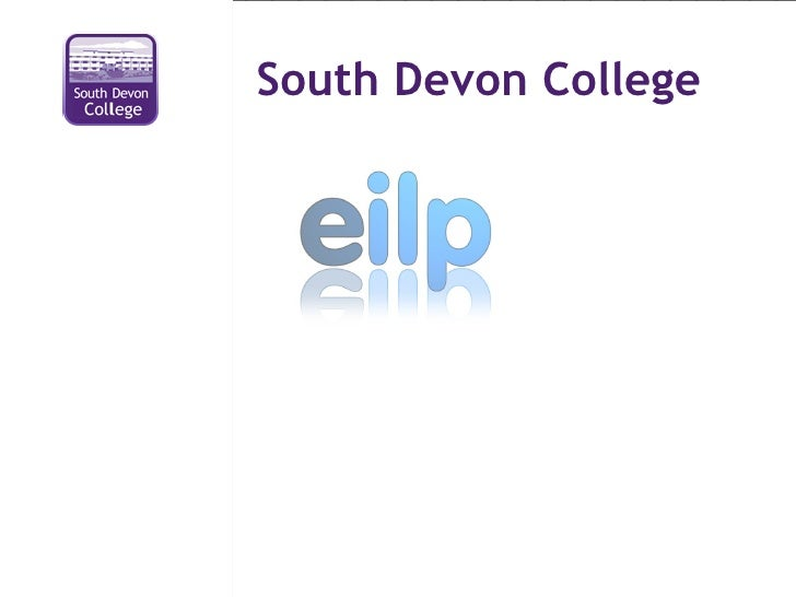 eILP Features at SDC TEN Open Day
