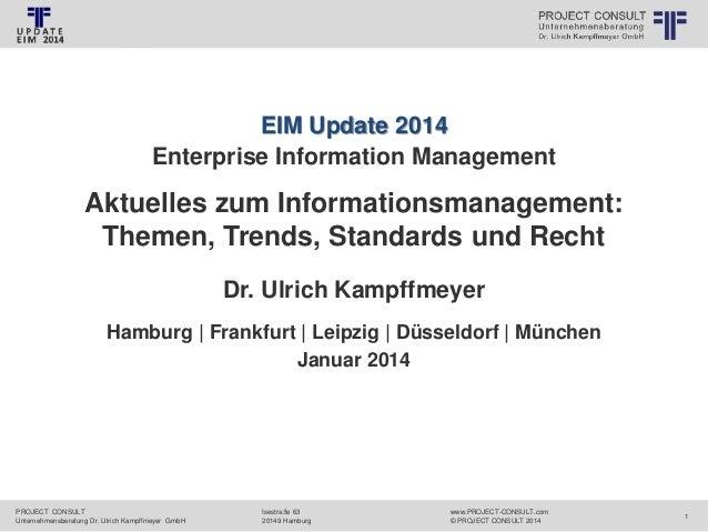 [DE] EIM-Update 2014 Folien