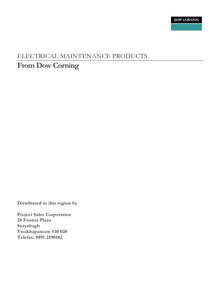 E&I Maintenance Guide