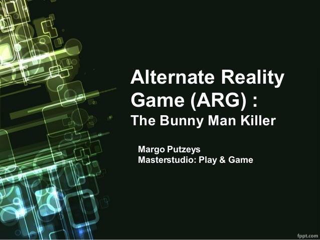 Eindpresentatie play en game ARG