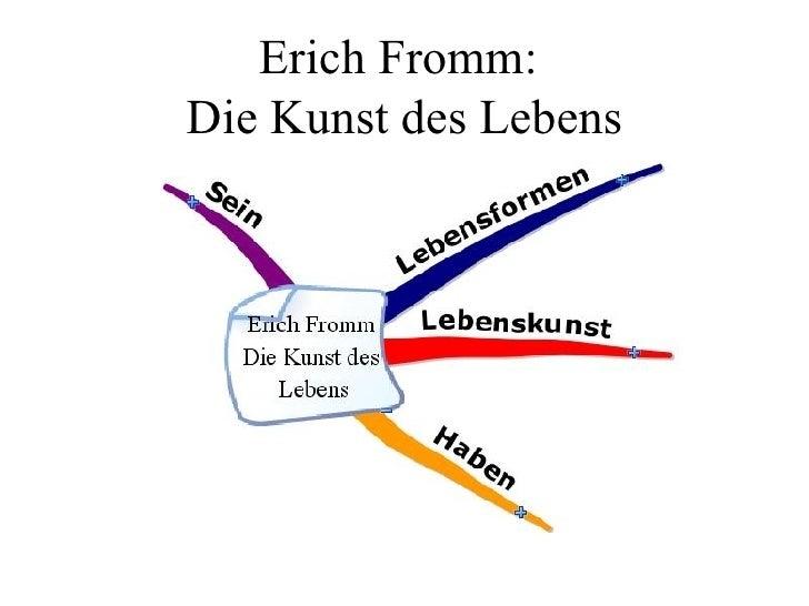 Erich Fromm:  Die Kunst des Lebens