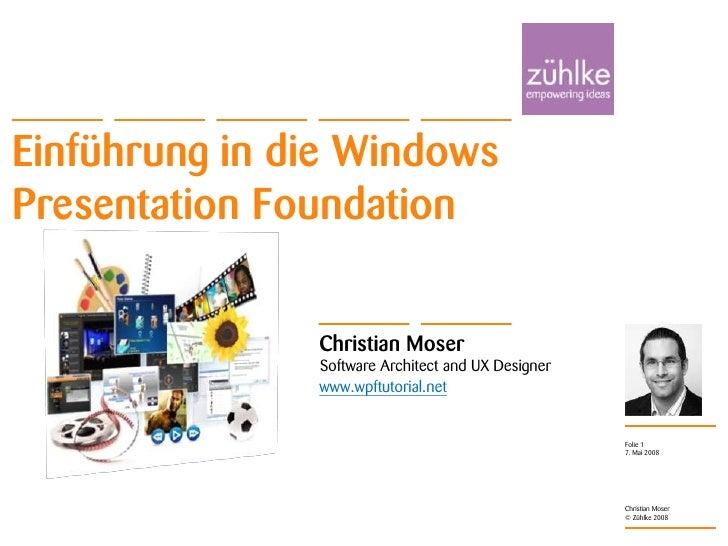 Einführung in Windows Presentation Foundation
