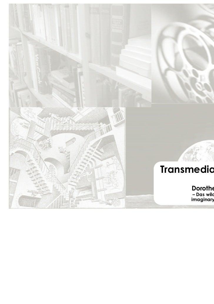 Einführung transmedia storytelling ununi.tv