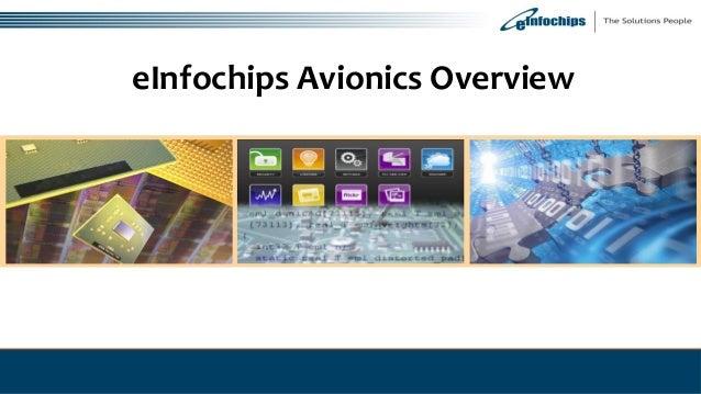 eInfochips Avionics Overview