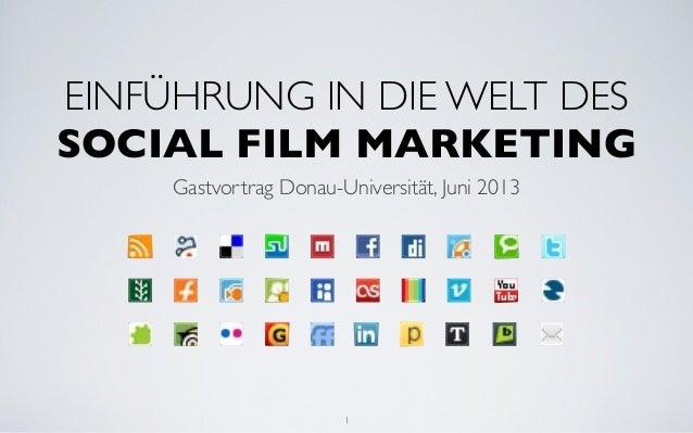 Einführung in die Welt des Social Film Marketing