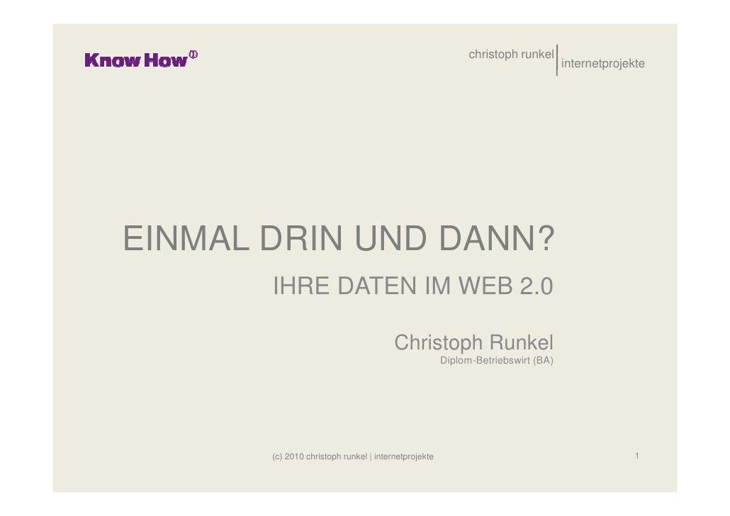 christoph runkel                                                                                  internetprojekte     EIN...