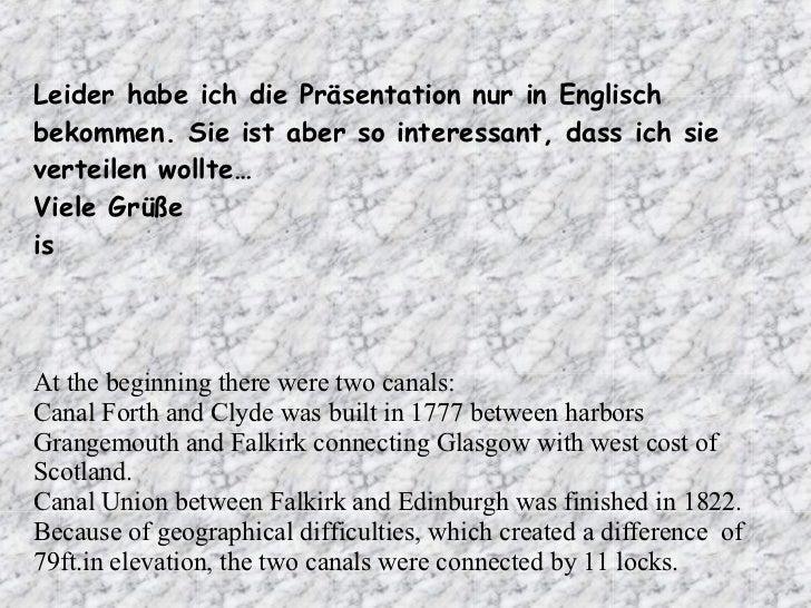 Leider habe ich die Präsentation nur in Englisch bekommen. Sie ist aber so interessant, dass ich sie verteilen wollte… Vie...