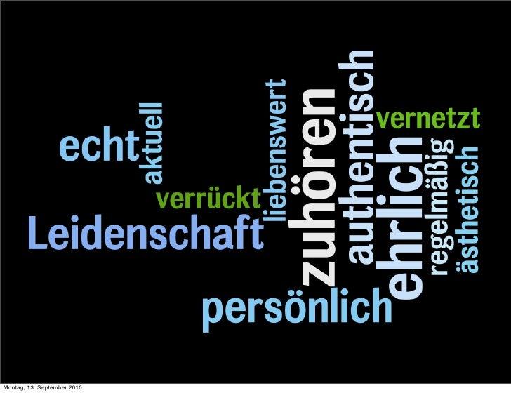 Einsatz von Social Media im Schloss Zeilitzheim