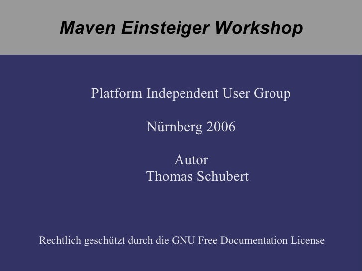 Einsteiger Workshop