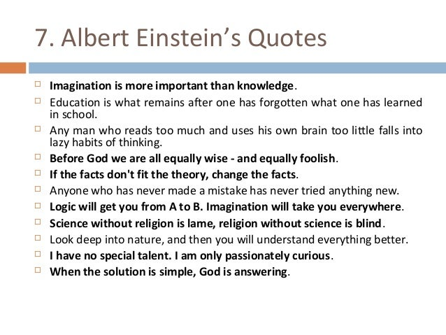 Imagination Is More Important Than Knowledge Gre Essay Template - image 2