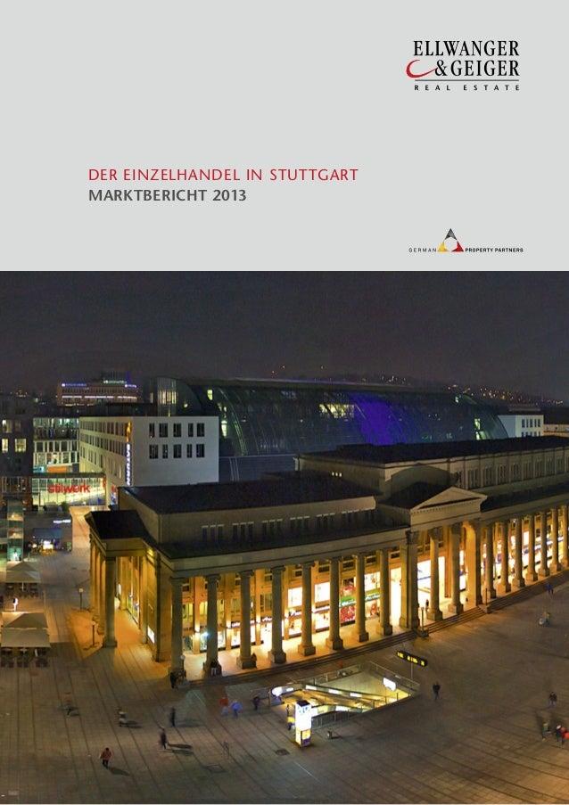 Der Einzelhandel in Stuttgart - Marktbericht 2013