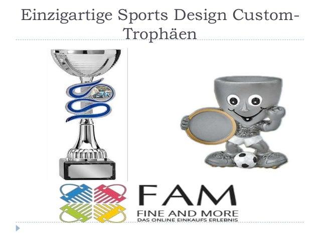 Einzigartige Sports Design Custom- Trophäen