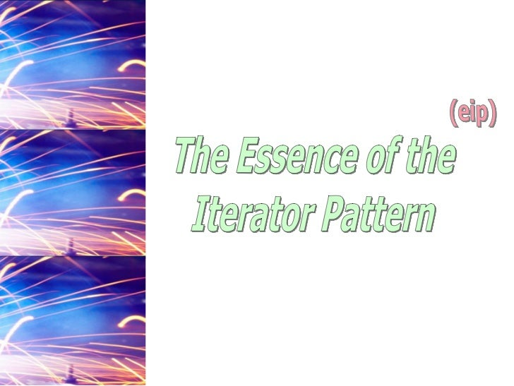 The Essence of the Iterator Pattern (pdf)
