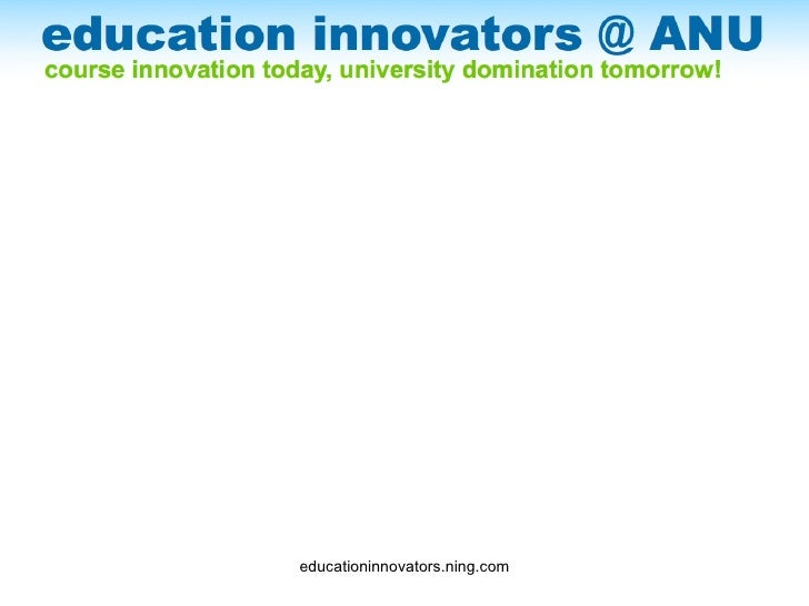Education Innovation Project