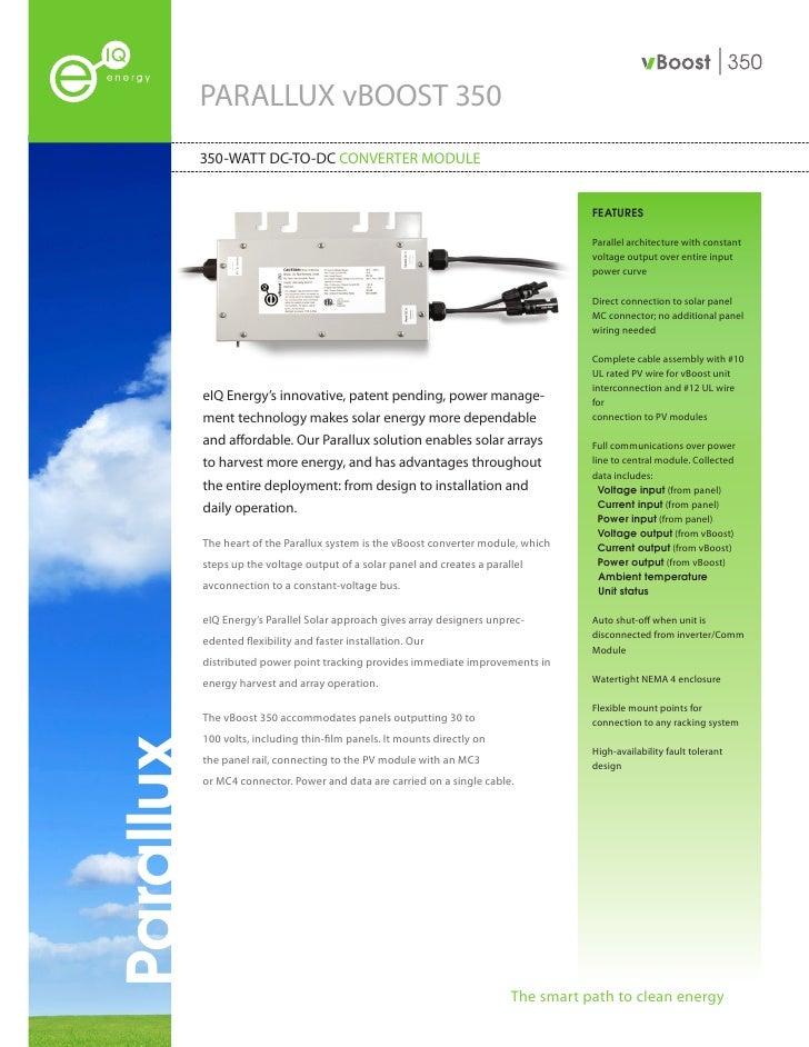 eIQ Datasheet - 350-WATT DC-TO-DC Converter Module