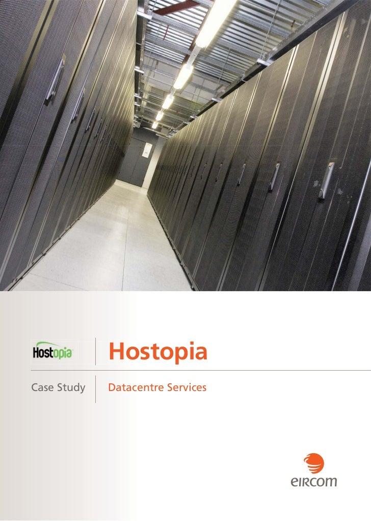 HostopiaCase Study   Datacentre Services