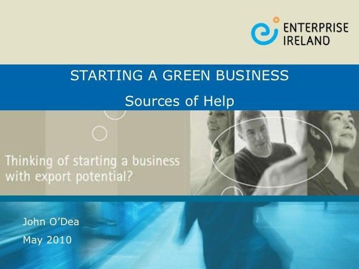 Ei starting a_greenbusiness