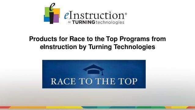 Eitt products and rttt programs