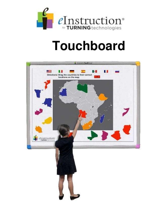 Touchboard