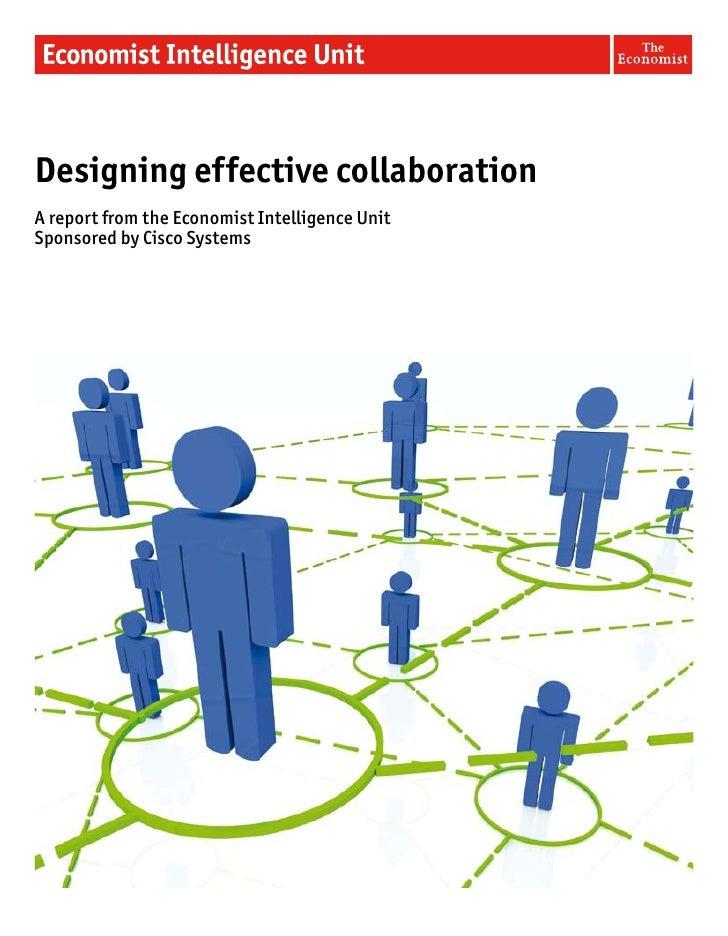 Designing effective collaboration