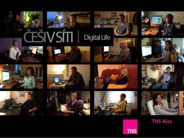 Češi v síti aneb internet podle TNS Aisa