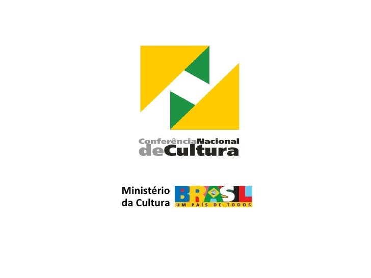 Conferênia Nacional de Cultura: Eixo 5