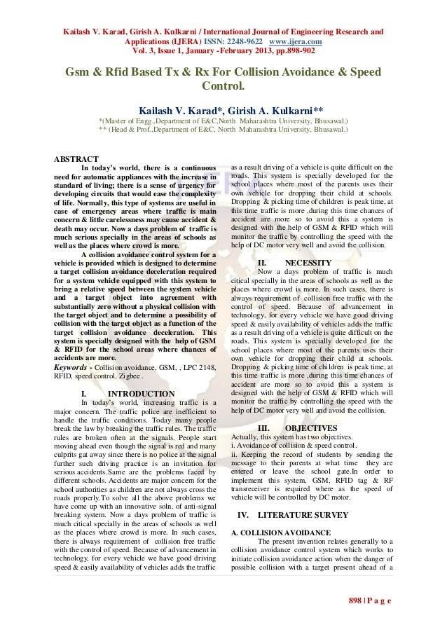 Kailash V. Karad, Girish A. Kulkarni / International Journal of Engineering Research and                   Applications (I...