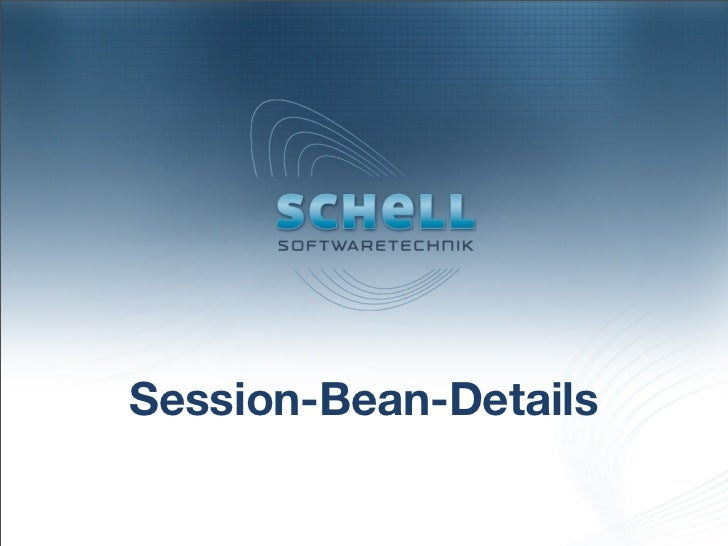 Session-Bean-Details
