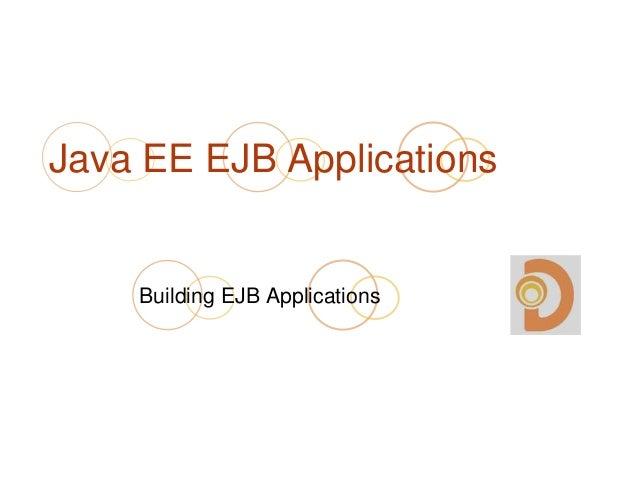 Java EE EJB Applications