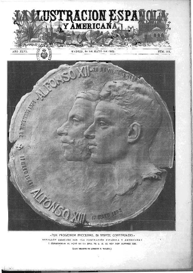 Ejemplar ilustración española y americana   madrid 30-05-1902 - juramento de alfonso xiii